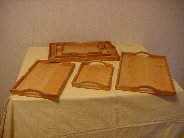 Brödfat-Brickor i oljad Al 4 storlekar 25 x18 cm, 35 x23 cm, 45 x 29 ...